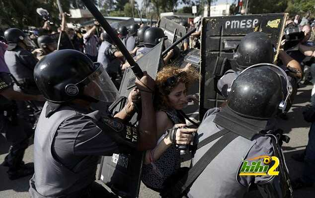 نتيجة بحث الصور عن مظاهرات في البرازيل