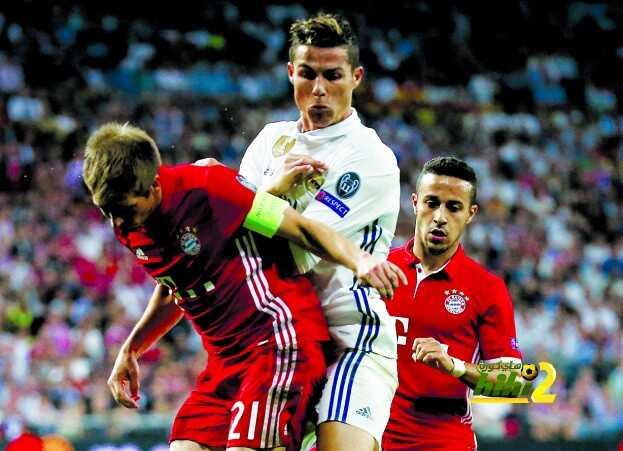 شاهد كل نتائج ريال مدريد وبايرن ميونخ في الابطال هاي كورة