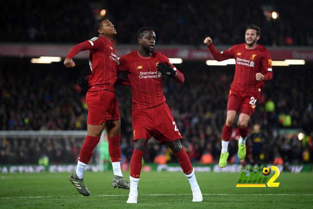 ليفربول يحقق رقما قياسيا على أرضية ملعبه