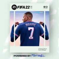 كيليان مبابي على غُلاف الإصدار الجديد FIFA22!